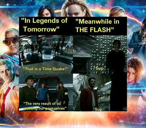 10 Legends of Tomorrow Logic Memes That Prove The Show Makes No Sense