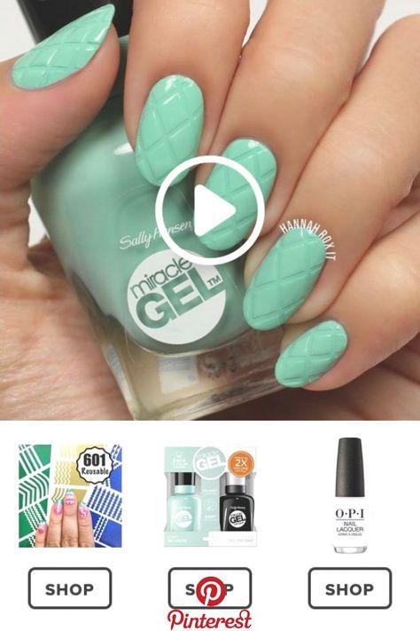 How to Get a Criss Cross Manicure #darbysmart #beauty #nailpolish #nailart #nail « Beauty MY