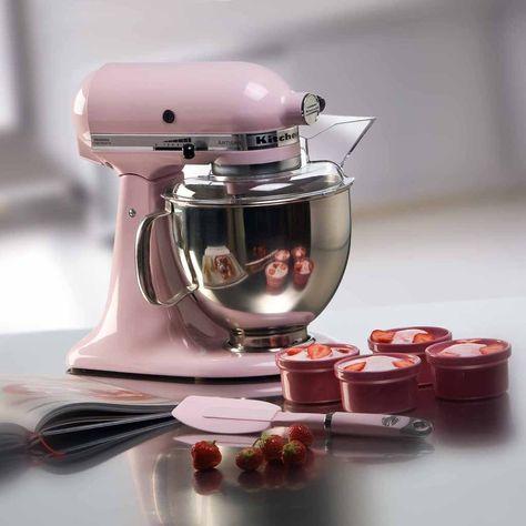 KITCHEN AID KÜCHENMASCHINE ROSA Schon seit Jahrzehnten überzeugt - kitchenaid küchenmaschine artisan rot