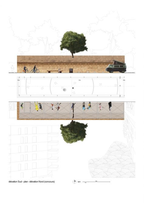 Football Playground / Guinée et Potin Architects