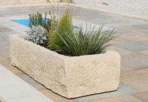 jardiniere en pierre pierres jardin