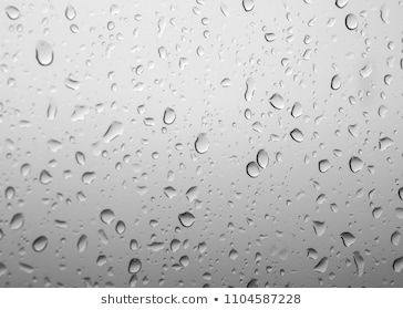 Rain Drops On Window Glasses Surface With Cloudy Background Natural Pattern Of Raindrops On Background Colorful Roses Flower Frame Png Red Peonies