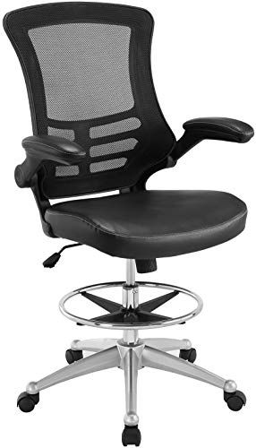 Amazing Offer On Modway Attainment Vinyl Drafting Chair Drafting