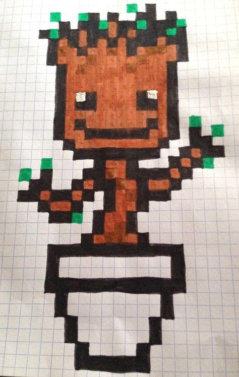 Les 39 Meilleures Images Du Tableau Mes Pixel Art Sur