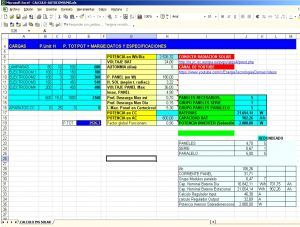 Hoja De Calculo Para Calcular Instalaciones Autoconsumo Hojas De Calculo Instalacion Instalaciones Fotovoltaicas