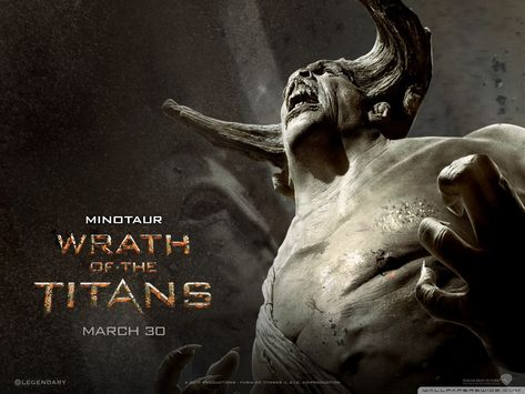 The Minotaur from Wrath of the Titans