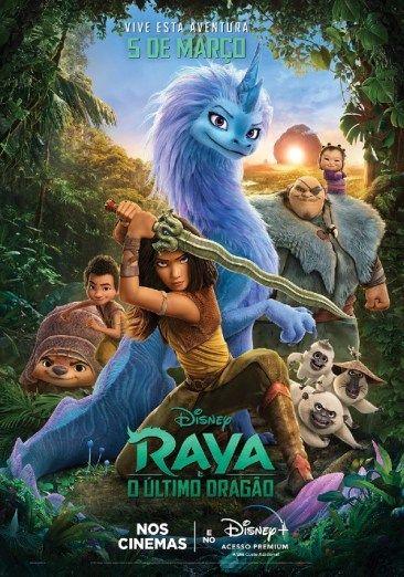 Trailer final da nova princesa da Disney: Raya e o Último Dragão