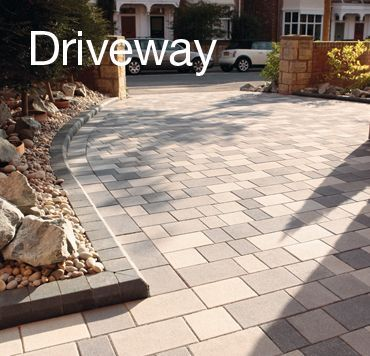 Best Driveway Ideas to Improve The Appeal of Your House #DrivewayIdeas # Driveway | Front driveway ideas, Driveway, Garden ideas driveway