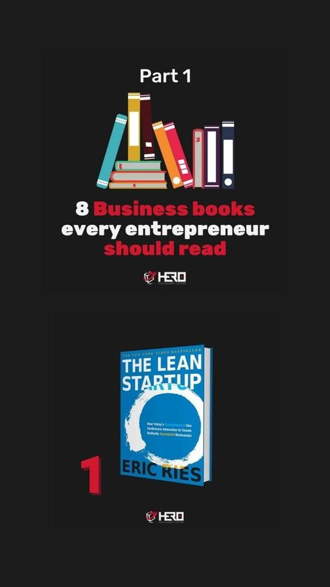 8 Business books every entrepreneur should read