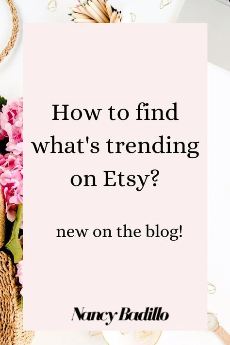 Etsy Trends