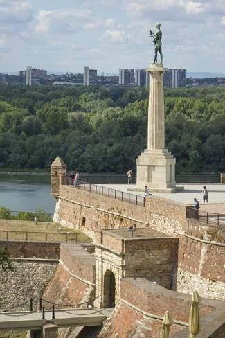 Photographic Print: Victor Column, Kalemegdan Fortress, Belgrade, Serbia, Europe by Rolf Richardson : 36x24in