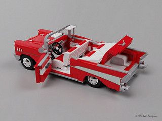 Lego Chevy Bel Air 1957 1957 Chevy Bel Air Lego Design Chevy