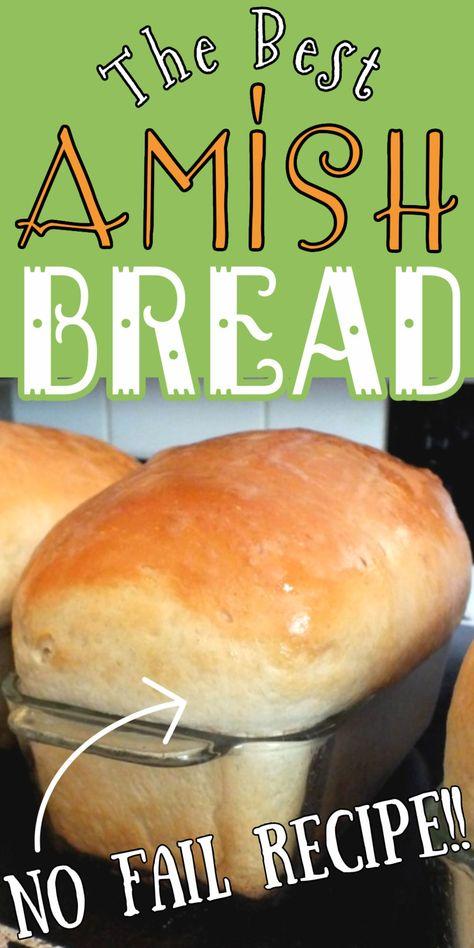 Amish Recipes, Quick Bread Recipes, Bread Machine Recipes, Dutch Recipes, Side Recipes, Amish White Bread, Amish Bread, Bread Bun, Bread Cake
