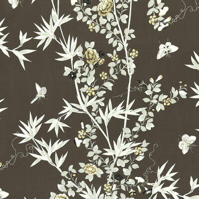 The House Of Scalamandre Botanica Jardin De Chine Fabric Set Of 2