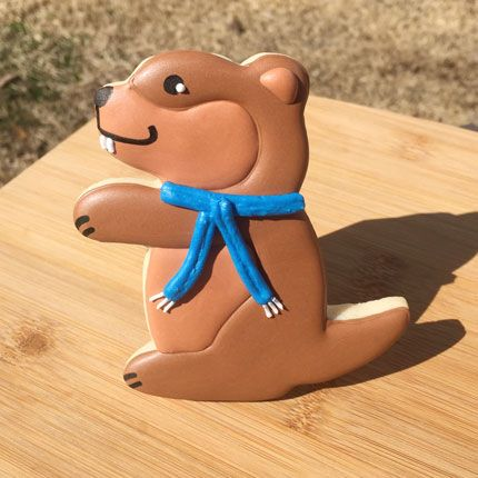 Fans of Groundhog Day will get a kick out of this critter cookie cutter.