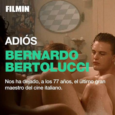"""""""La utopía y las transgresiones deben seguir siendo posibles"""". No podemos hablar de cine italiano sin hablar de él, Bernardo Bertolucci. #Bertolucci #Directores #Cinema #Movies"""