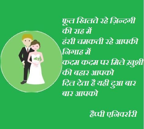Marriage Anniversary Hindi Shayari Wishes Images With Images