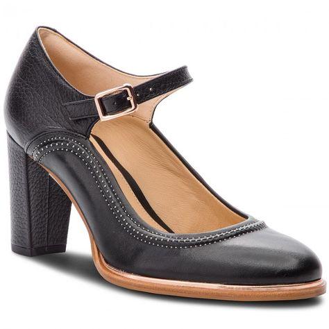 Κλειστά παπούτσια CLARKS - Ellis Mae 261378004 Black Leather ... 11b0065b323