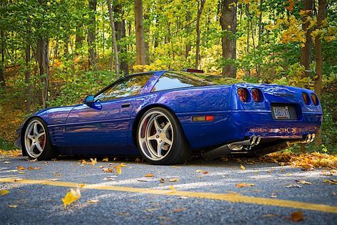 Mike Gill's 1994 Admiral Blue Corvette ZR-1 re-writes the