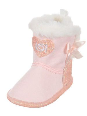 b9e1c365681 Baby Shoes 147285: Bebe Baby Girls Plush Booties -> BUY IT NOW ONLY ...