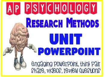 Ap Psychology Research Methods Unit Fun Engaging Powerpoint Interactive Quiz Psychology Research This Or That Questions Ap Psychology