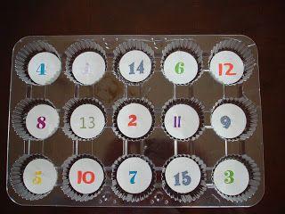 Mrs. Karen's Preschool Ideas: Counting Game