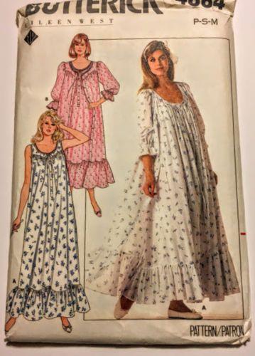 U Pick Vintage Patterns Sleepwear Pj Caftan Nightgowns Robes