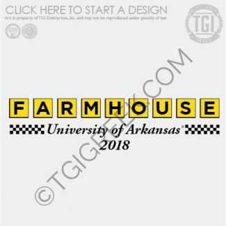 Farmhouse Waffle House Fraternity Pr University Of Arkansas Tgi Greek Custom Apparel Sorority Shirts Fraternity Fraternity Shirts Sorority Shirts