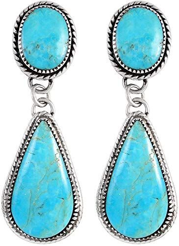 New Turquoise Earrings Sterling Silver 925 Genuine Turquoise Jewelry Select Style Online Shopping Top10ideas Genuine Turquoise Jewelry Turquoise Earrings Sterling Earrings
