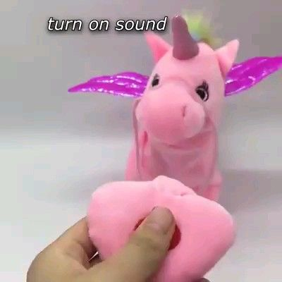 Music Kids Walking Unicorn Toy Video Video Music For Kids Unicorn Toys Heart For Kids