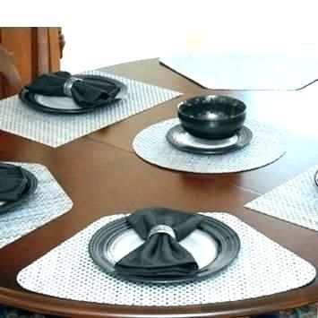 Round Table Placemats For A Round Table Fascinating For Round Tables Best For Round Table Sliver Grey Wedge Shaped For Round Tables Fascinating For Round T Molde