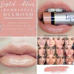LipSense Bombshell Diamond and Opal gloss New and sealed