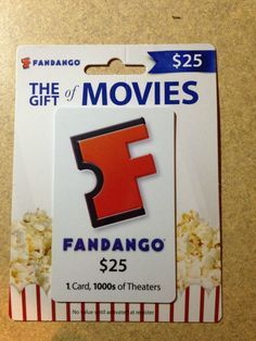 How To Get Free Fandango Gift Card Generator: http://cracked ...
