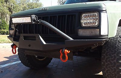 Front Winch Steel Custom Bumper Jeep Cherokee Xj Mj Sale
