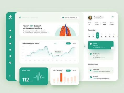 Interface Design Tablet Web Design