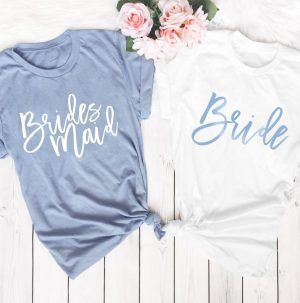 Bridesmaid Gifts They Actually Use And Love Diy Darlin Bridesmaid Shirts Gifts For Wedding Party Wedding Party Shirts