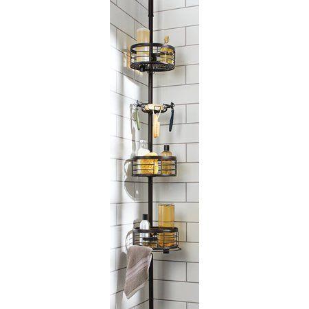 b15734aac155750c74eeff218ea5b2be - Better Homes And Gardens Medium Shower Caddy Bronze