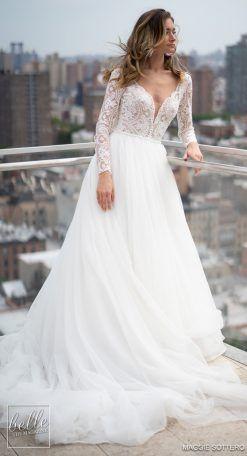 Nybfw Maggie Sottero Designs Wedding Dresses 2019 Belle The Magazine Maggie Sottero Wedding Dresses Wedding Dresses Pretty Wedding Dresses