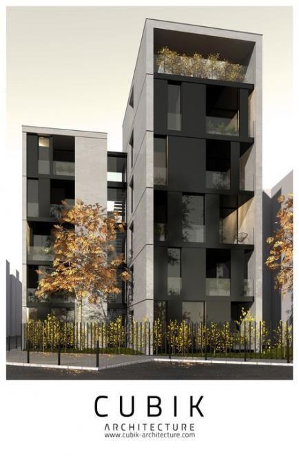 53 Trendy Apartment Building Facade Texture Apartment Modern