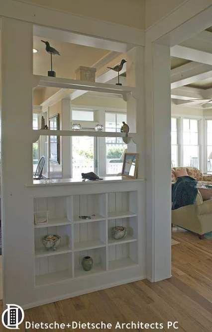 65 Ideas Kitchen Room Divider Half Walls Living Room Divider