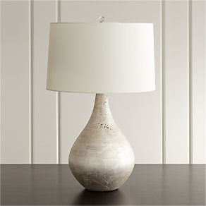 Vera Champagne Table Lamp Reviews Crate And Barrel Decorative Table Lamps Bedroom Lamps Table Lamp
