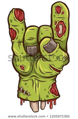 0ad8b85da4416 Vector illustration of Cartoon Zombie hand | Cartoon Design in 2019 ...