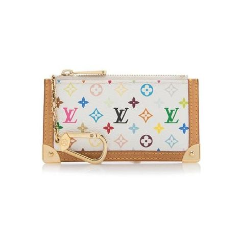 Pre Owned Louis Vuitton Monogram Multicolore Key Pouch 175 Liked On Polyvore Featuring Bags Colorful Wallet Louis Vuitton Wallet Pre Owned Louis Vuitton