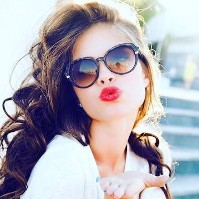 صور بنات كيوت 2021 احلي خلفيات بنات للفيس بوك يلا صور Round Sunglass Women Round Sunglasses Beautiful