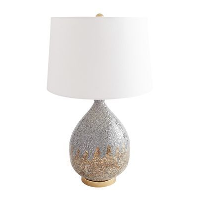 Ombre Mosaic Gold Gray Table Lamp Pier 1 Grey Table Lamps Lamp Table Lamp