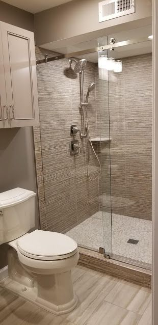 Barn Style Glass Shower Door In Reston Va Dream Showers