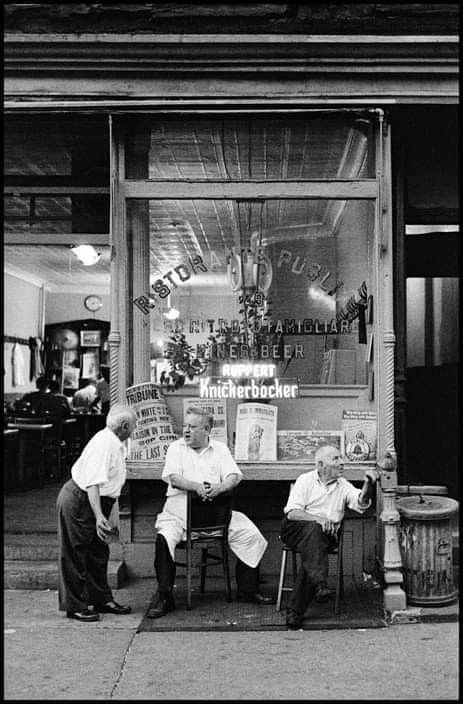 Ristorante Puglis At 189 Hester Street Little Italy Nyc In 1961 Photograph By Burt Glinn Little Italy Nyc Little Italy Nyc