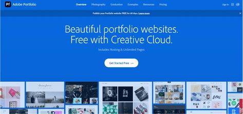 Top 5 Best Free Online Portfolio for Graphic Designer. - MaxCompose
