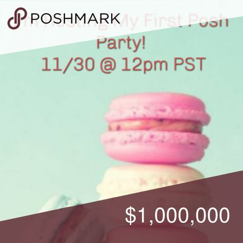 I'm Hosting My First Posh Party! I'm hosting my first posh party! Join me November 30 at 12pm PST! Like, share, and tag your PFFs so I can browse your closets for host picks! I'll announce the theme as soon as I know it. HAPPY POSHING!  ❤Amanda Amanda Other