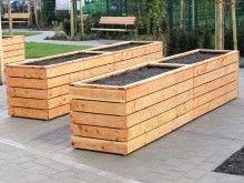 Hochbeet Holz Grosse Nach Mass In 2020 Hochbeet Holz Hochbeet Gartengestaltung Hochbeet
